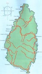 The Name Saint Lucia